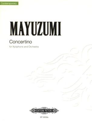 Concertino Toshiro Mayuzumi Partition Xylophone - laflutedepan