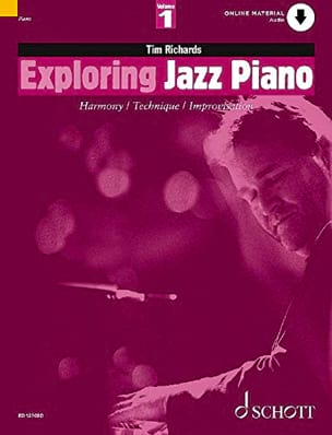 Tim Richards - Exploring Jazz Piano Volume 1 - Partition - di-arezzo.com