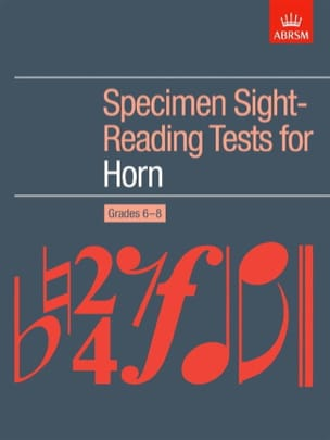 - Specimen Sight-Reading Tests For Horn - Sheet Music - di-arezzo.com