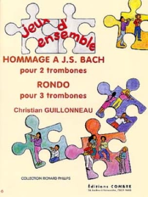 Hommage A J.S. Bach / Rondo Christian Guillonneau laflutedepan