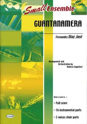 Guantanamera - Small Ensemble - José Fernandez Diaz - laflutedepan.com