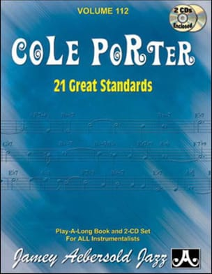 METHODE AEBERSOLD - Volume 112 - Cole Porter - 21 Great Standards - Sheet Music - di-arezzo.com