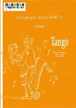 Tango Christophe Guichard Partition Multi Percussions - laflutedepan