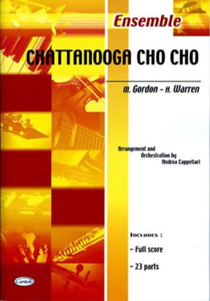 Chattanooga Cho Cho Harry Warren Partition ENSEMBLES - laflutedepan
