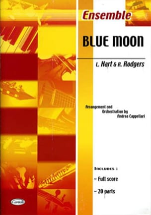 Richard Rodgers - Blue Moon - Partition - di-arezzo.fr