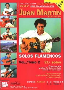 Juan Martin - Solos Flamencos Volume 2 - Partition - di-arezzo.fr