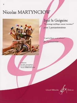 Nicolas Martynciow - Jigui the Guiguine - Sheet Music - di-arezzo.com