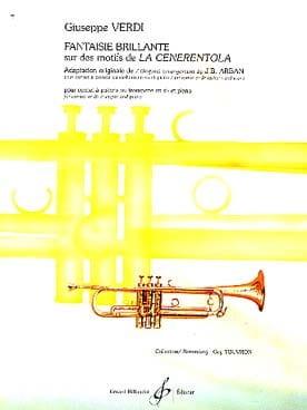 Gioacchino Rossini - Fantaisie Brillante Sur Des Motifs de la Cenerentola - Partition - di-arezzo.fr