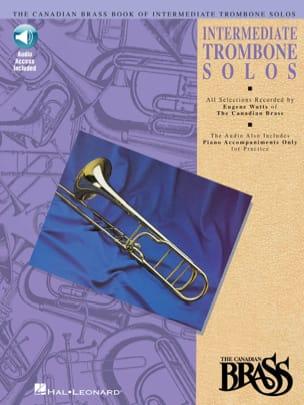 Intermediate Trombone Solos Partition Trombone - laflutedepan