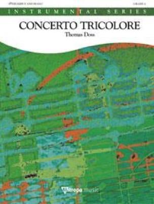 Thomas Doss - Concerto Tricolore - Partition - di-arezzo.fr