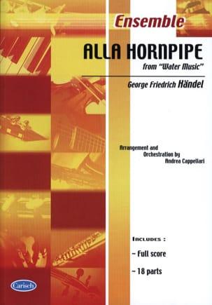 HAENDEL - Alla Hornpipe From Water Music - Partition - di-arezzo.fr