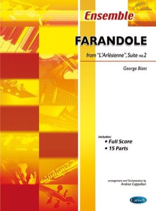 BIZET - Farandole from L'Arlesienne Suite N ° 2 - Sheet Music - di-arezzo.co.uk