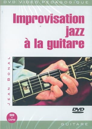 Jean Bonal - DVD - Improvisation Jazz A la Guitare - Sheet Music - di-arezzo.com