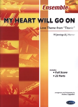 James Horner - My Heart Will Go On From Titanic - Partition - di-arezzo.fr