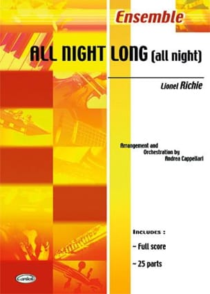 Lionel Richie - All Night Long All Night - Sheet Music - di-arezzo.co.uk
