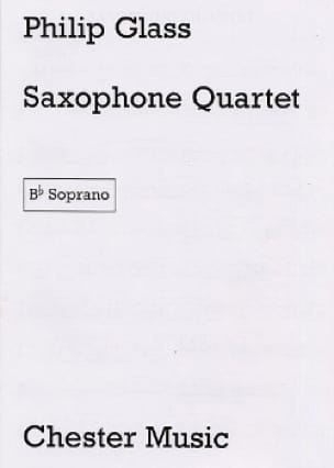 Philip Glass - Saxophone Quartet - Parties - Partition - di-arezzo.fr