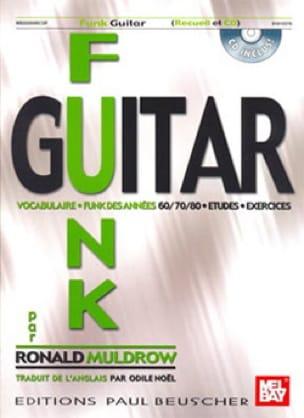 Ronald Muldrow - Funk Guitar - Partition - di-arezzo.fr