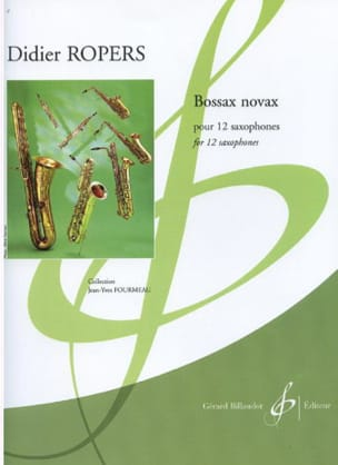 Didier Ropers - Bossax Novax - Partition - di-arezzo.fr