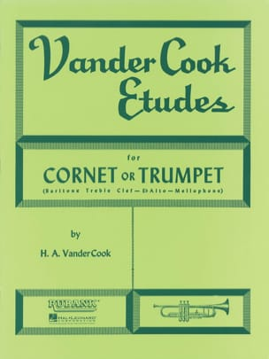 H. A. Vandercook - Vandercook Studies For Cornet or Trumpet - Sheet Music - di-arezzo.com