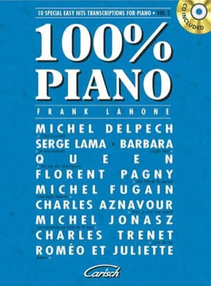 - 100% piano volume 2 - Partition - di-arezzo.fr