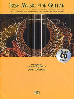 John Loesberg - Irish Music For Guitar - Partition - di-arezzo.fr