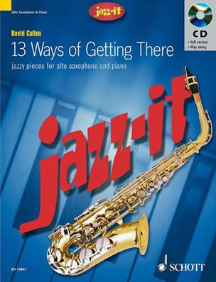 Jazz-It David Cullen Partition Saxophone - laflutedepan
