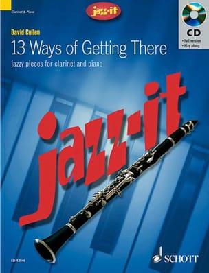 Jazz-It David Cullen Partition Clarinette - laflutedepan