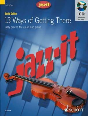 Jazz-It David Cullen Partition Violon - laflutedepan