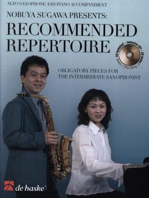 Recommended Repertoire Partition Saxophone - laflutedepan