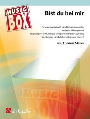 BACH - Bist du bei mir - music box - Partition - di-arezzo.fr