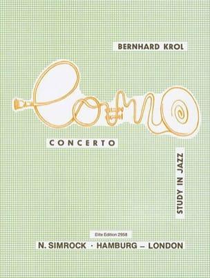 Bernhard Krol - Concerto Study In Jazz. Cor - Partition - di-arezzo.fr