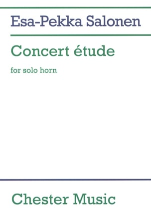Esa-Pekka Salonen - Concert Study - Sheet Music - di-arezzo.co.uk