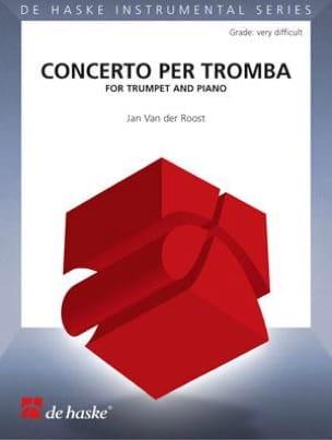 Jan van der Roost - Concerto Per Tromba - Partition - di-arezzo.fr