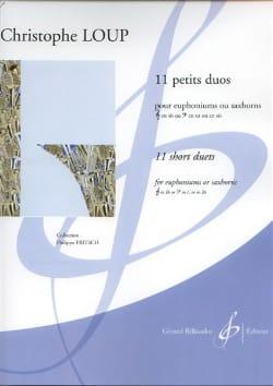 Christophe Loup - 11 Little Duets - Sheet Music - di-arezzo.com