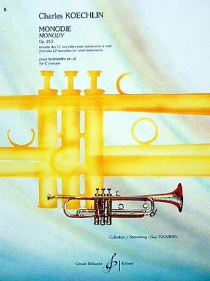 Charles Koechlin - Monodie - Partition - di-arezzo.fr