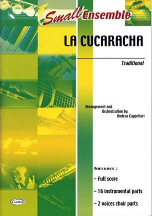 La Cucaracha - Small Ensemble Traditionnel Partition laflutedepan