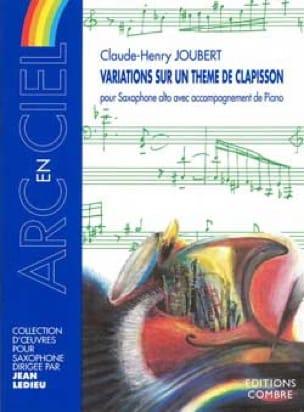Claude-Henry Joubert - Variations Sur Un Thème de Clapisson - Partition - di-arezzo.fr