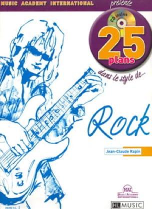 Jean-Claude Rapin - 25 Disparos en Rock Style ... Rock - Partitura - di-arezzo.es