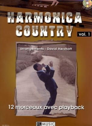Harmonica Country Volume 1 Traditionnel Partition laflutedepan