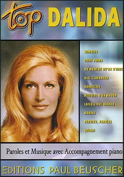 Dalida - Top Dalida - Sheet Music - di-arezzo.com