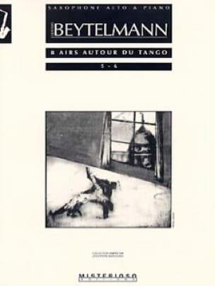 8 Airs Autour du Tango 5 - 6 Gustavo Beytelmann Partition laflutedepan