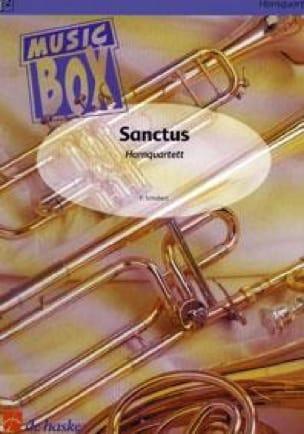 SCHUBERT - Sanctus - music box - Partition - di-arezzo.co.uk