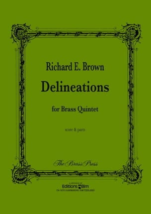 Richard E. Brown - Delineations - Partition - di-arezzo.fr
