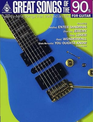 - Great Songs Of The 90s For Guitar - Sheet Music - di-arezzo.co.uk