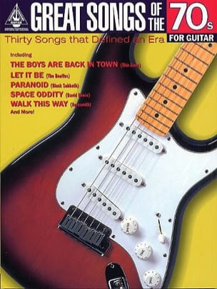 Great Songs Of The 70s For Guitar - Partition - di-arezzo.fr