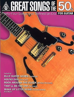 - Great Songs Of The 50s For Guitar - Sheet Music - di-arezzo.co.uk