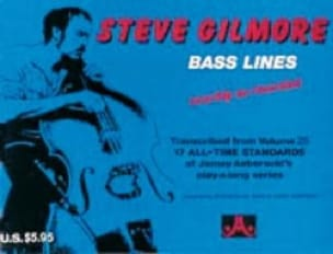 Steve Gilmore - Bass Lines All-Time Standards - Aebersold 25 - Partition - di-arezzo.fr