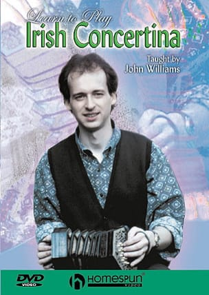 John Williams - DVD - Learn To Play Irish Concertina - Sheet Music - di-arezzo.com