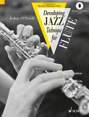 Developing Jazz Technique For Flute - Neill John O' - laflutedepan.com