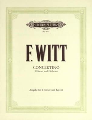 Friedrich Witt - Concertino - Sheet Music - di-arezzo.com